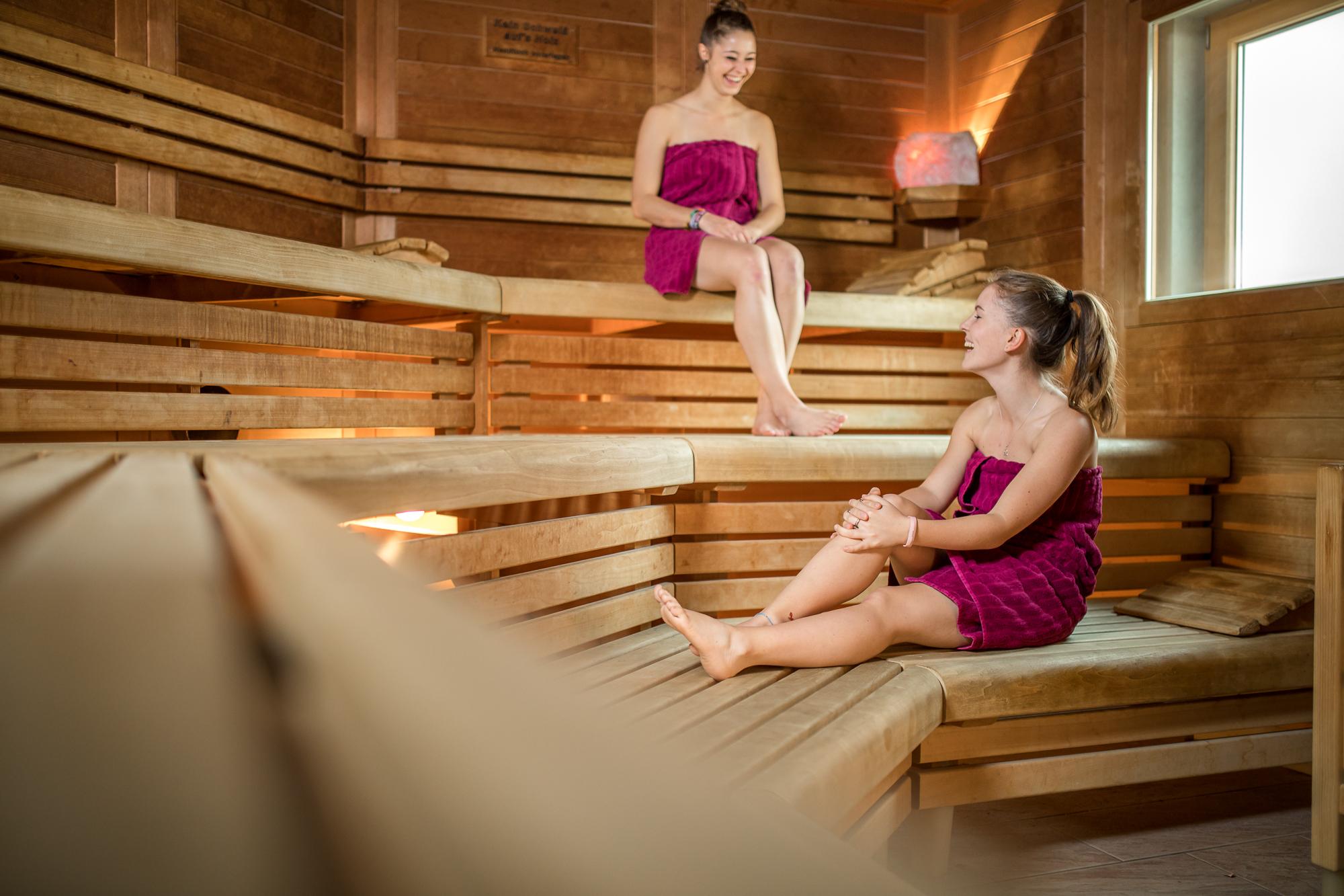 Businessfotografie, Businessfotograf Weilheim-Schongau Sauna im Sportstudio Guffanti