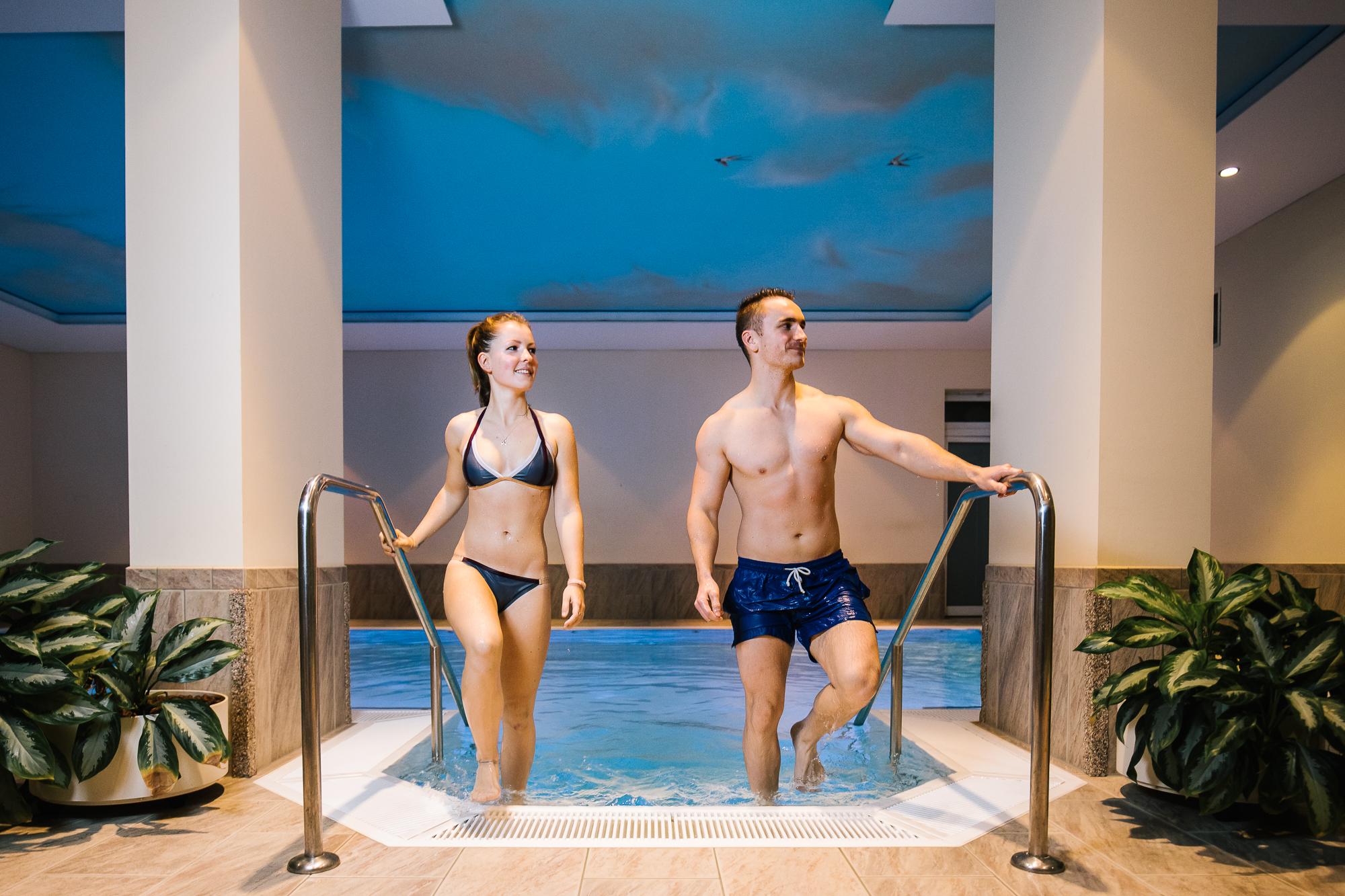 Schwimmbad im Sportstudio Guffanti
