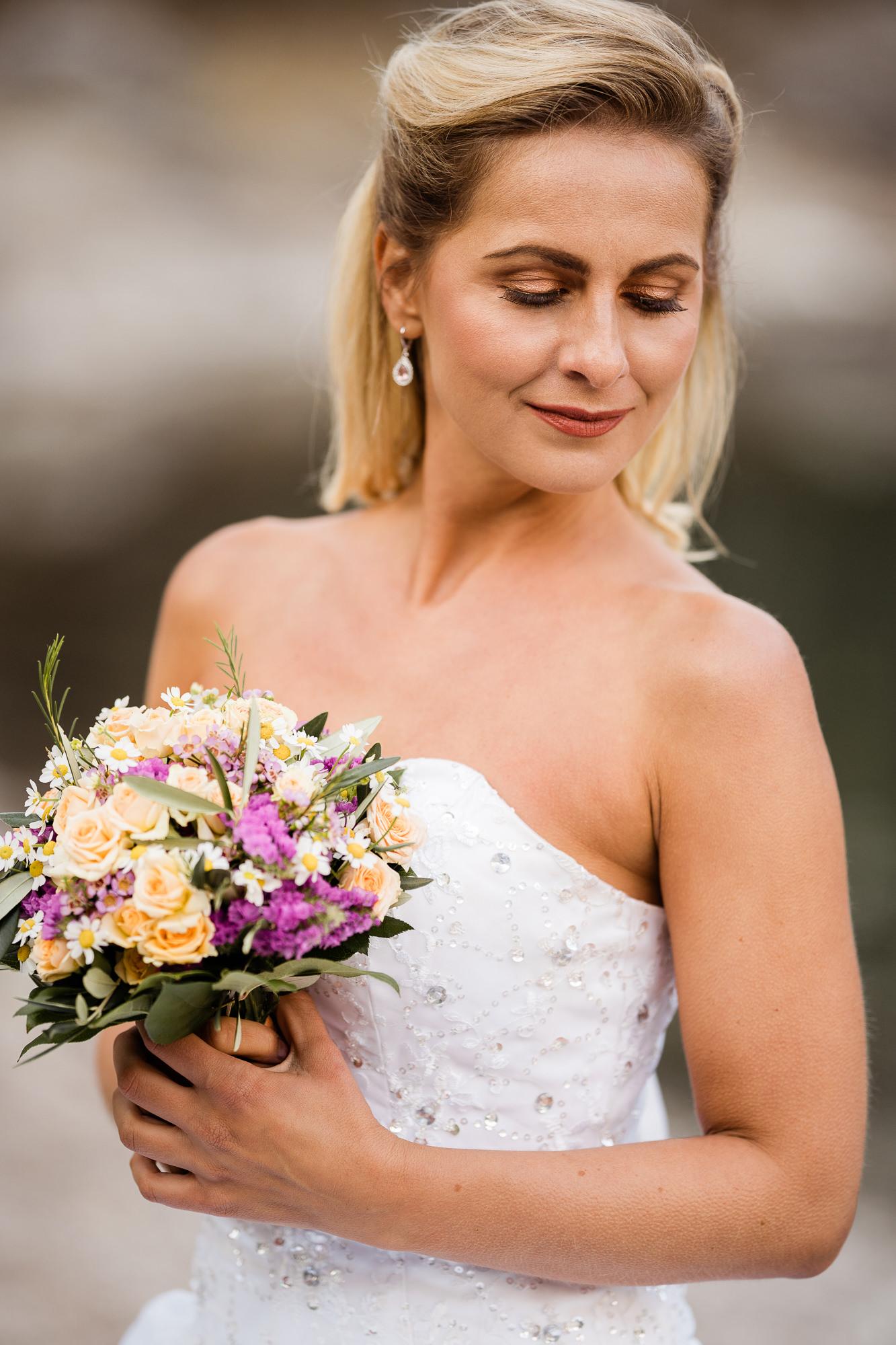 Braut am Eibsee
