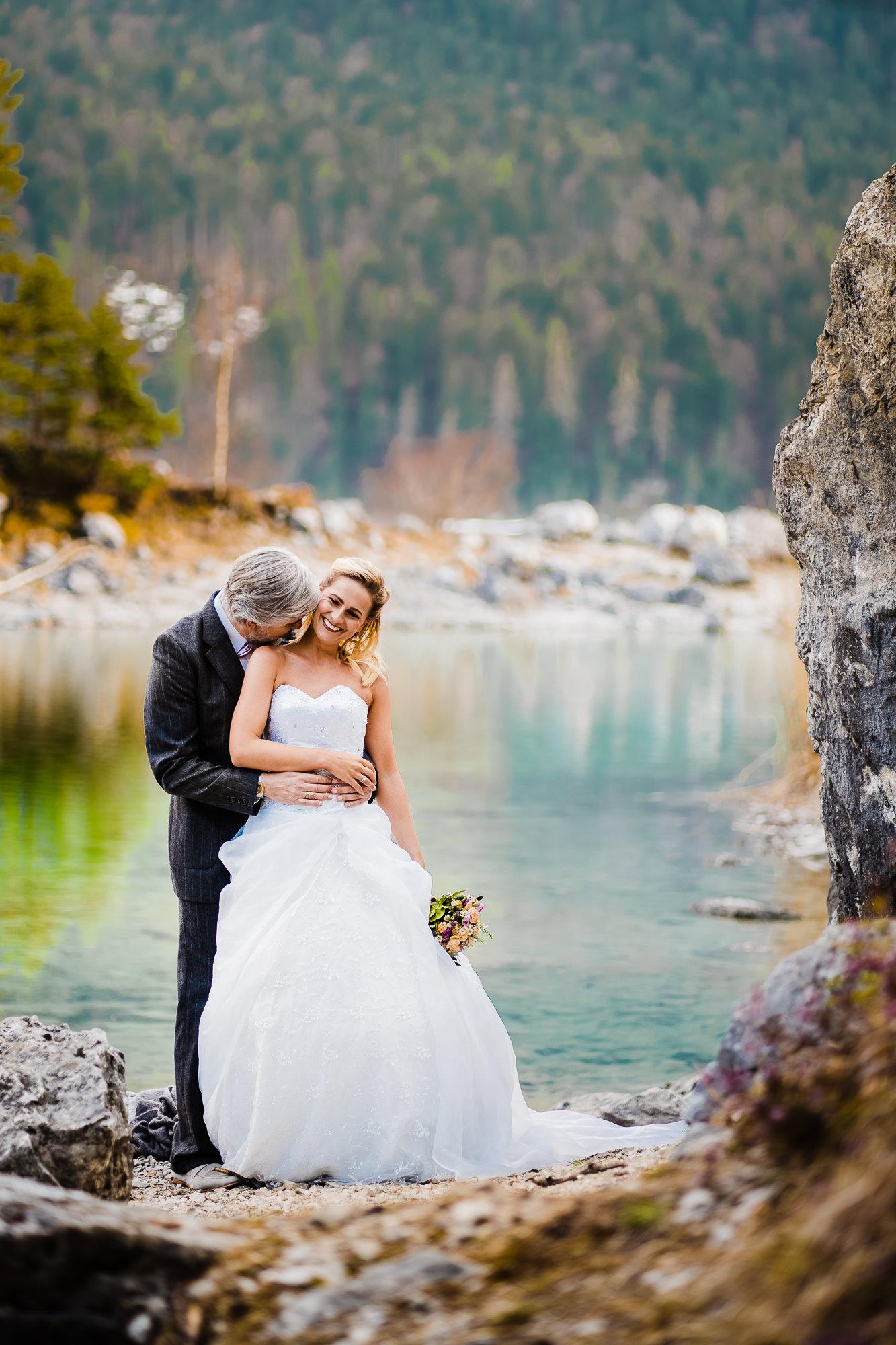 Brautpaar am Eibsee