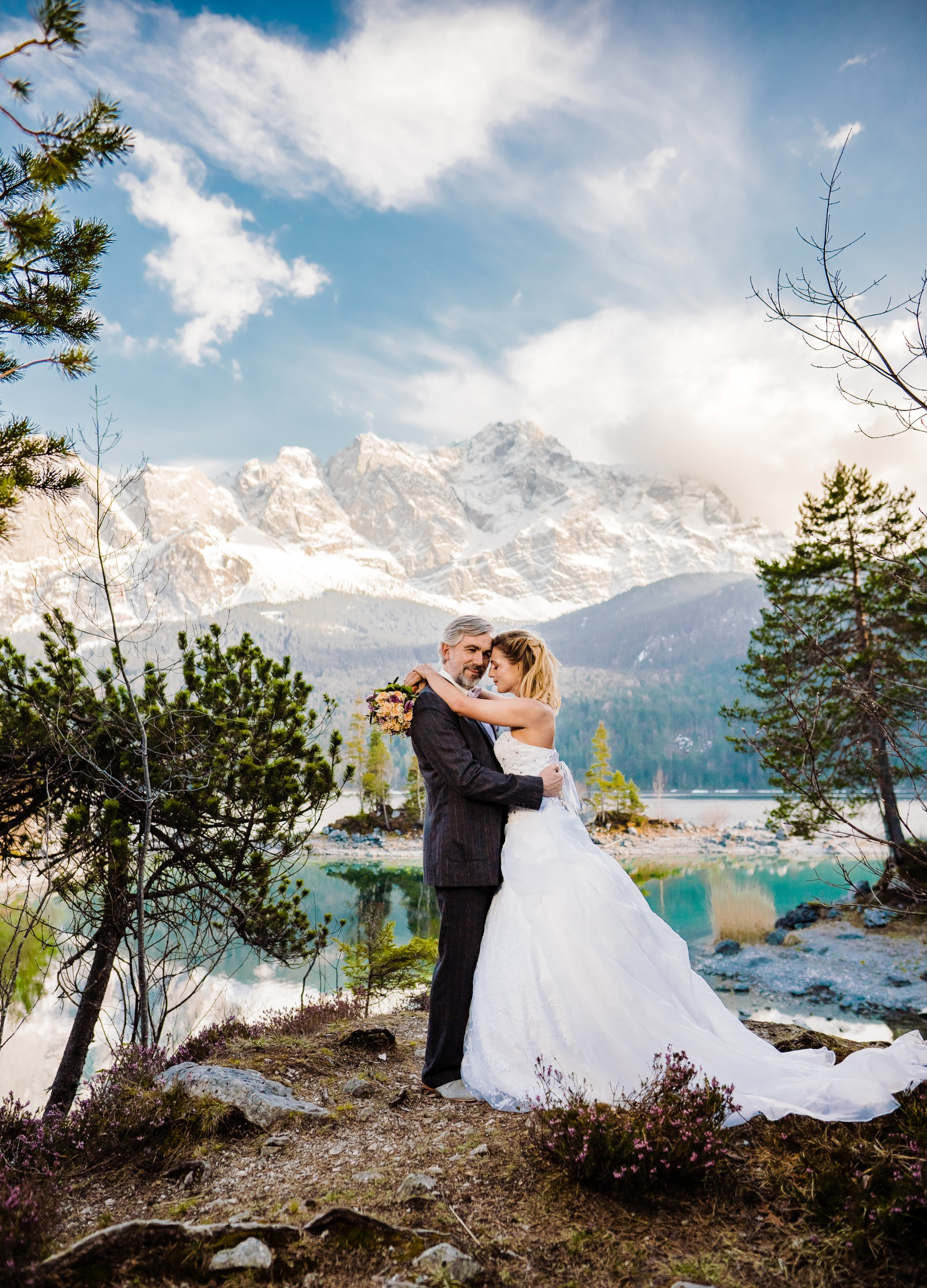 Afterwedding am Eibsee