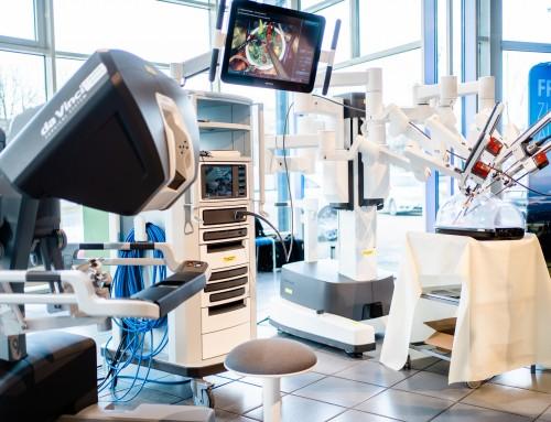 Einweihung Krankenhaus Weilheim / 1. Robotermesse Weilheim